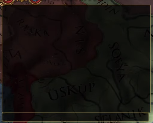 The command console in Europa Universalis IV